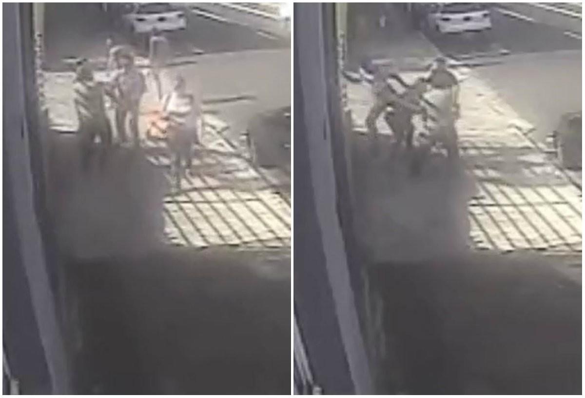 VÍDEO: câmera flagra vereador agredindo jornalista em São Carlos - Radio Evangelho Gospel