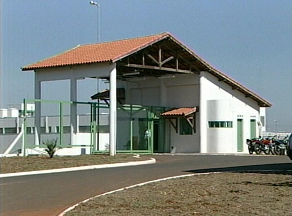 Penitenciária de Tupi Paulista abriga mais de 1,3 mil mulheres (Foto: Reprodução/TV Fronteira)