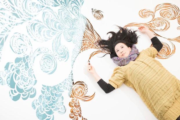 A designer japonesa Risa Kojo participará de atividades na Japan House nos dias 24 e 25 de fevereiro.  (Foto: Ryu Kodama)