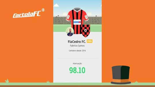 Aula de mitagem: Fabrício lidera rodada #5 na Liga do GE Sergipe e dá dicas para cartoleiros