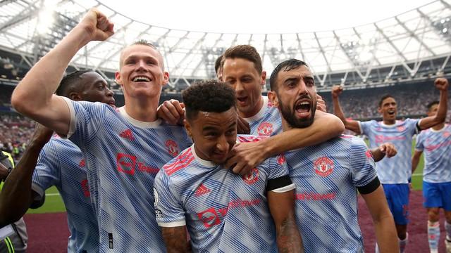 Lingard não celebrou o gol após passar a temporada no West Ham