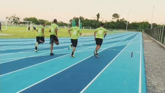 Equipe de atletismo do Galvez se prepara para o Campeonato Norte-Nordeste