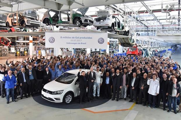 VW Gol 8 milhões (Foto: Divulgação)