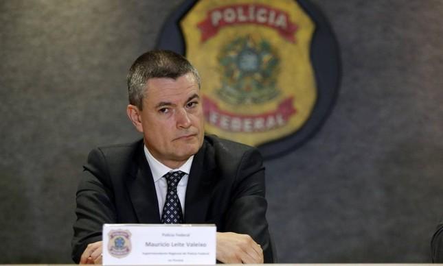 O ex-diretor-geral da Polícia Federal, Maurício Valeixo, exonerado pelo presidente Jair Bolsonaro e pivô da saída de Sergio Moro do governo