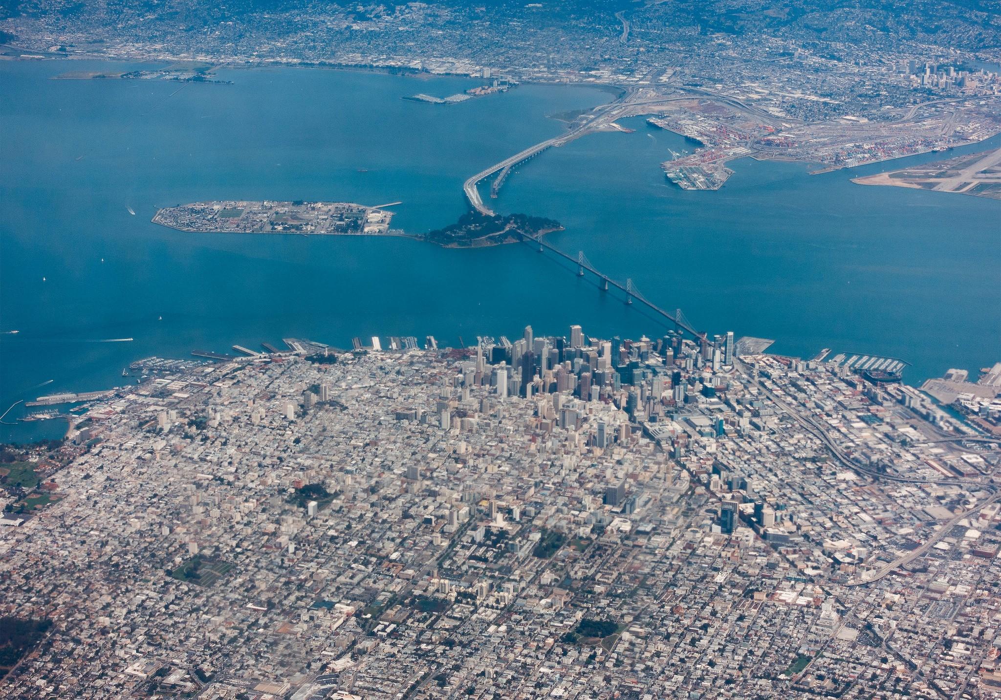 São Francisco tem mais de 860 mil habitantes (Foto: Alexander Russy/Flickr)