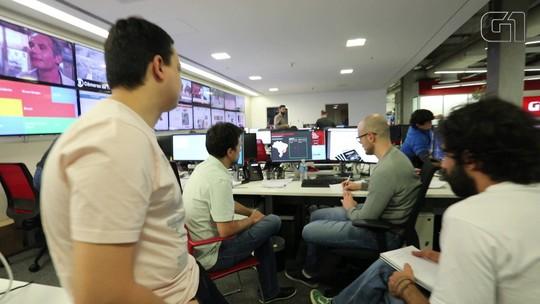 Levantamento contou com mais de 200 jornalistas de todas as redações do G1