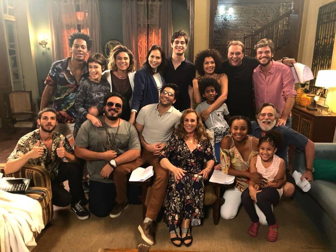 """Parte do elenco da novela """"Segundo Sol"""" (Foto: Reprodução / Instagram)"""
