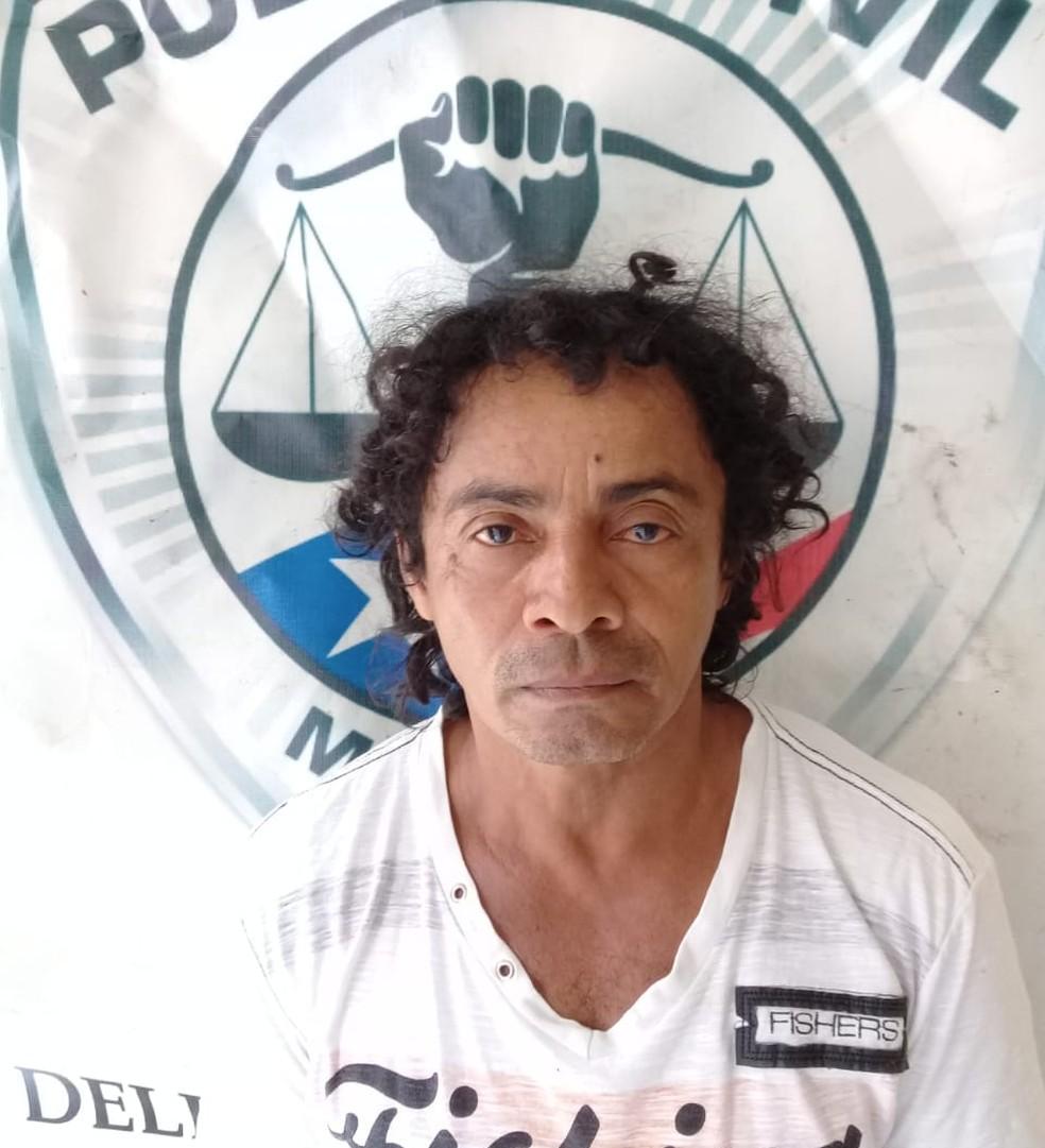 José Ribamar Pereira dos Santos foi preso no Povoado Guaraci da cidade de Itapecuru Mirim, a 117 km de São Luís (Foto: Divulgação/Polícia Civil)