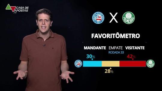 Bahia x Palmeiras: veja onde assistir, escalações, desfalques e arbitragem