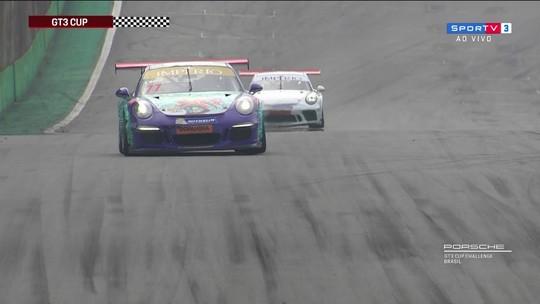 Chico Horta vence segunda corrida da 9ª etapa da GT3 Cup 4.0 da Copa Porsche
