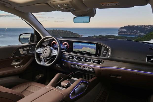 Mercedes-Benz GLS 2020 (Foto: Divulgação)