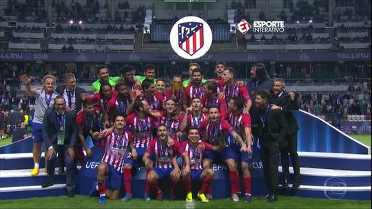 Atlético de Madrid é campeão da Supercopa da Europa e Barcelona vence com gol de Malcom