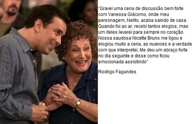Rodrigo Fagundes interpreta Nelito (Foto: TV Globo)