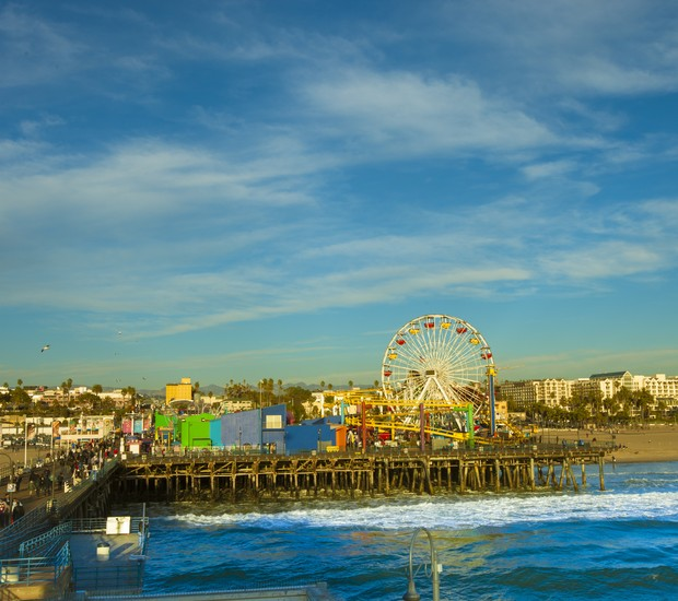 Pacific Park, em Santa Monica (Estados Unidos) (Foto: Thinkstock)
