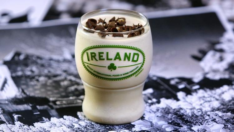 Guinness Baileys Shake at Ireland