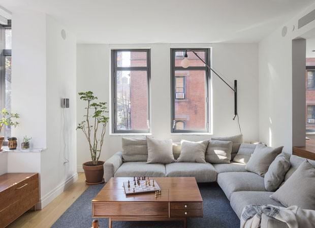Casa em Nova York tem contrastes e surpresas no quarto de bebê (Foto: Matthew Williams/ Divulgação)