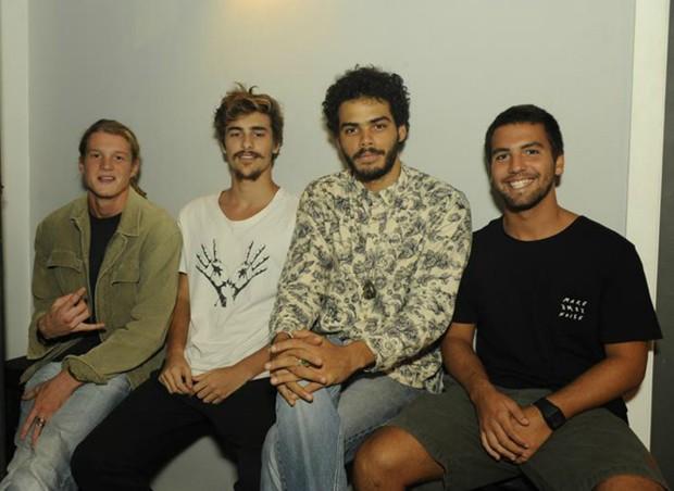 Pedro Novaes, Bruno, Enzo Romani e Diogo Novaes (Foto: Divulgação/Jan Sen)