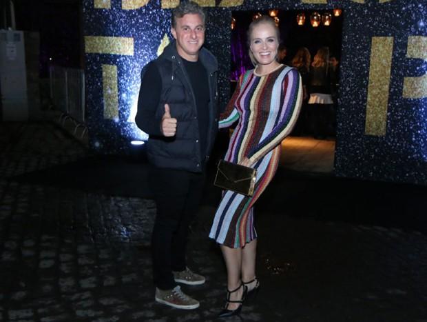 Luciano Huck e Angélica (Foto: Daniel Pinheiro/AgNews)
