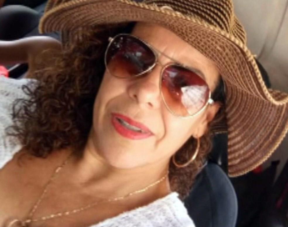 Rozemary Gomes Pita, de 42 anos, técnica de enfermagem investigada por usar seringa vazia — Foto: Reprodução