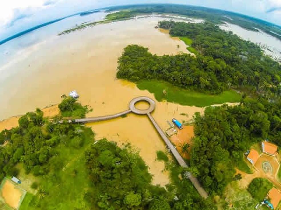 Vila Nova de Teotônio — Foto: Reprodução/Facebook