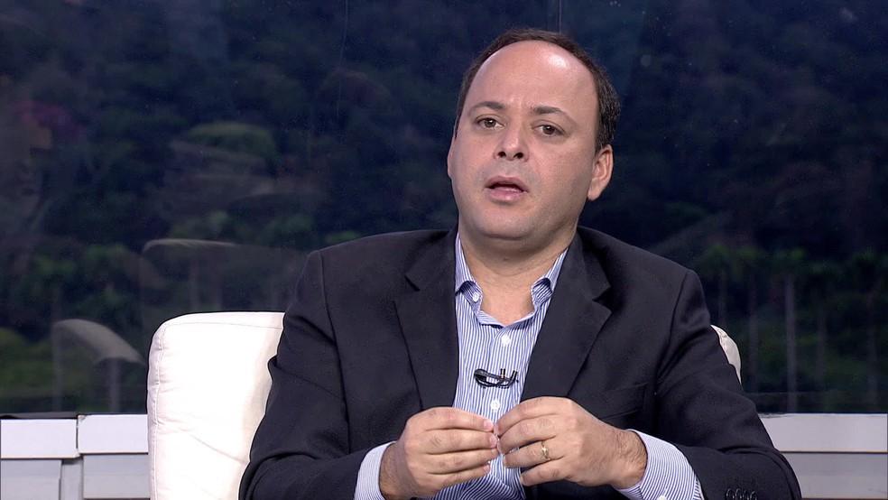 Prefeito de Niterói, Rodrigo Neves, foi preso nesta segunda-feira (10) — Foto: Reprodução / Tv Globo