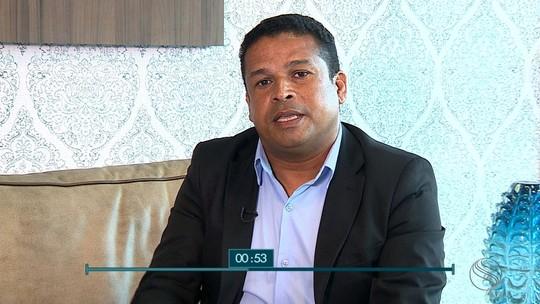Márcio Souza, candidato ao governo de SE, é entrevistado no SETV1ª Edição