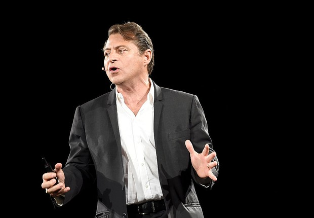 SAN FRANCISCO, CA - JULY 24: Peter Diamandis speaks at Chivas Regal's The Venture Final Pitch on July 24, 2015 in San Francisco, California (Foto: Michael Buckner/Getty Images for Pernod Ricard)