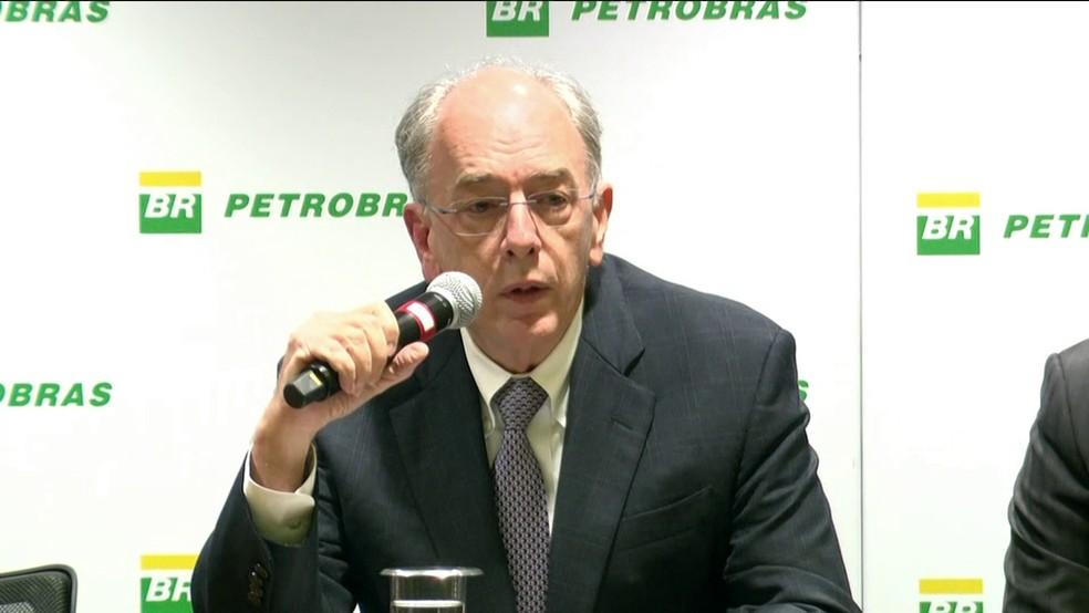 O presidente da Petrobras, Pedro Parente (Foto: Reprodução/GloboNews)