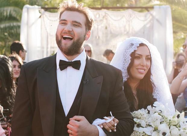 Weston Cage e Hila Aronian se casam (Foto: Reprodução/Instagram)