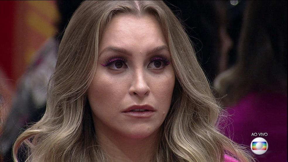 BBB21: Carla Diaz é a sétima eliminada do programa — Foto: Globo
