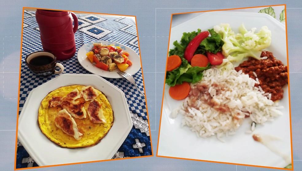 Marisa Zoccante também explica como a alimentação mudou — Foto: TV Fronteira / Reprodução