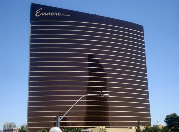 O Resort Wynn Encore Las Vegas está processando um cassino da região por copiar o seu projeto arquitetônico (Foto: Wikimedia Commons / Lasvegaslover )