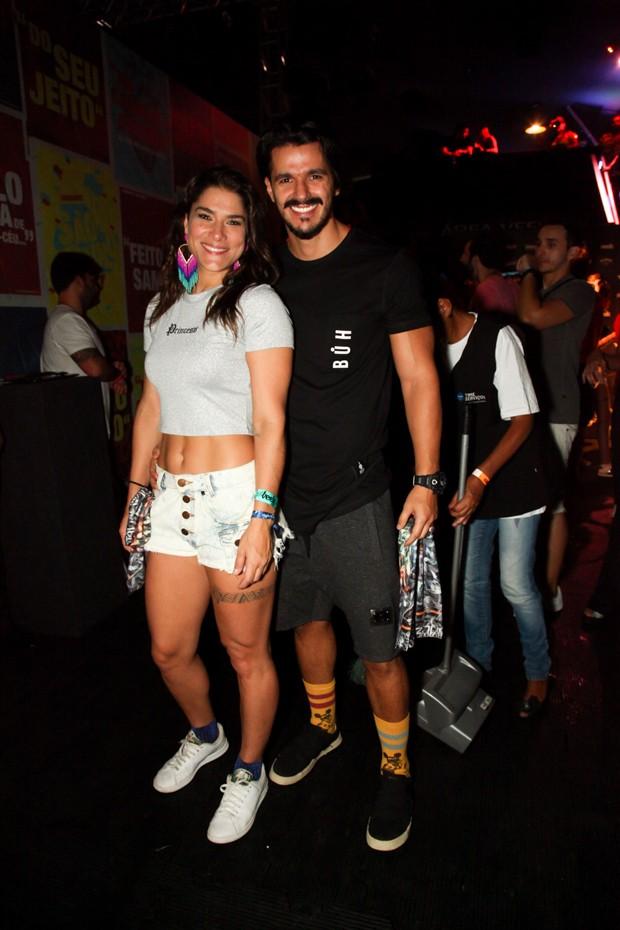 Priscila Fantin e o namorado, Bruno Lopes (Foto: Marcos Ribas/Brazil News)