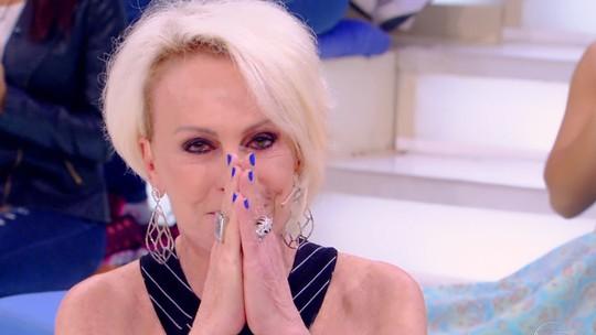 Ana Maria Braga se emociona no 'Visitando o Passado': 'Parece um sonho mesmo'
