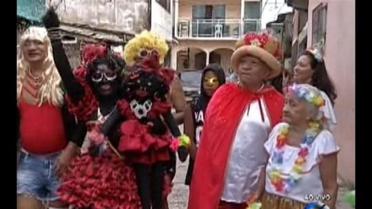 Novo mascote de cinco metros é atração do bloco 'Rabo do Peru'