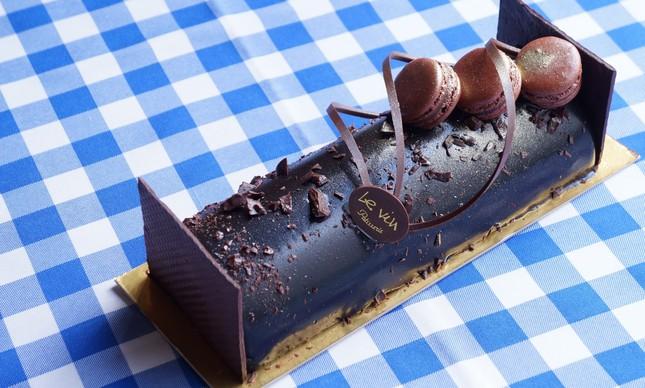 Bûche de Noël será oferecido nos sabores chocolate e pistache