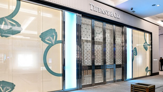Loja da Tiffany&Co, no Shopping Cidade Jardim (Foto: Divugação)