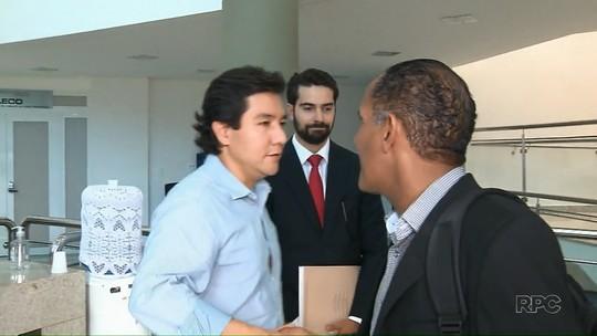 Vereadores afastados são ouvidos pelo MP em investigação sobre pagamento de propina para mudança de zoneamento em Londrina