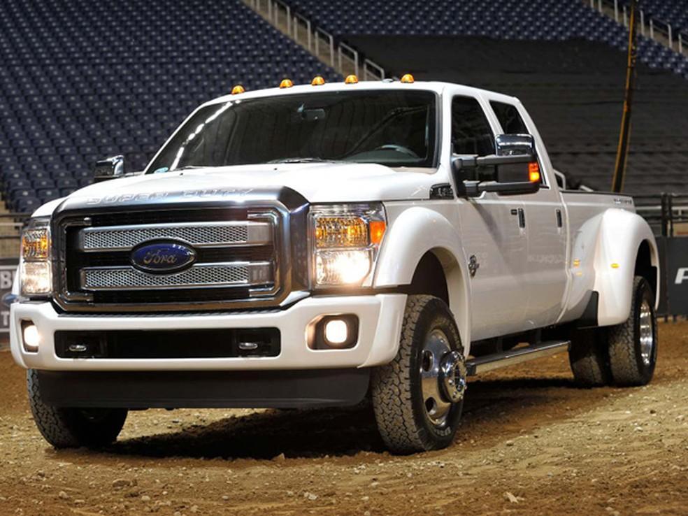 Ford Super Duty Platinum é topo de linha da Série F (Foto: Divulgação)