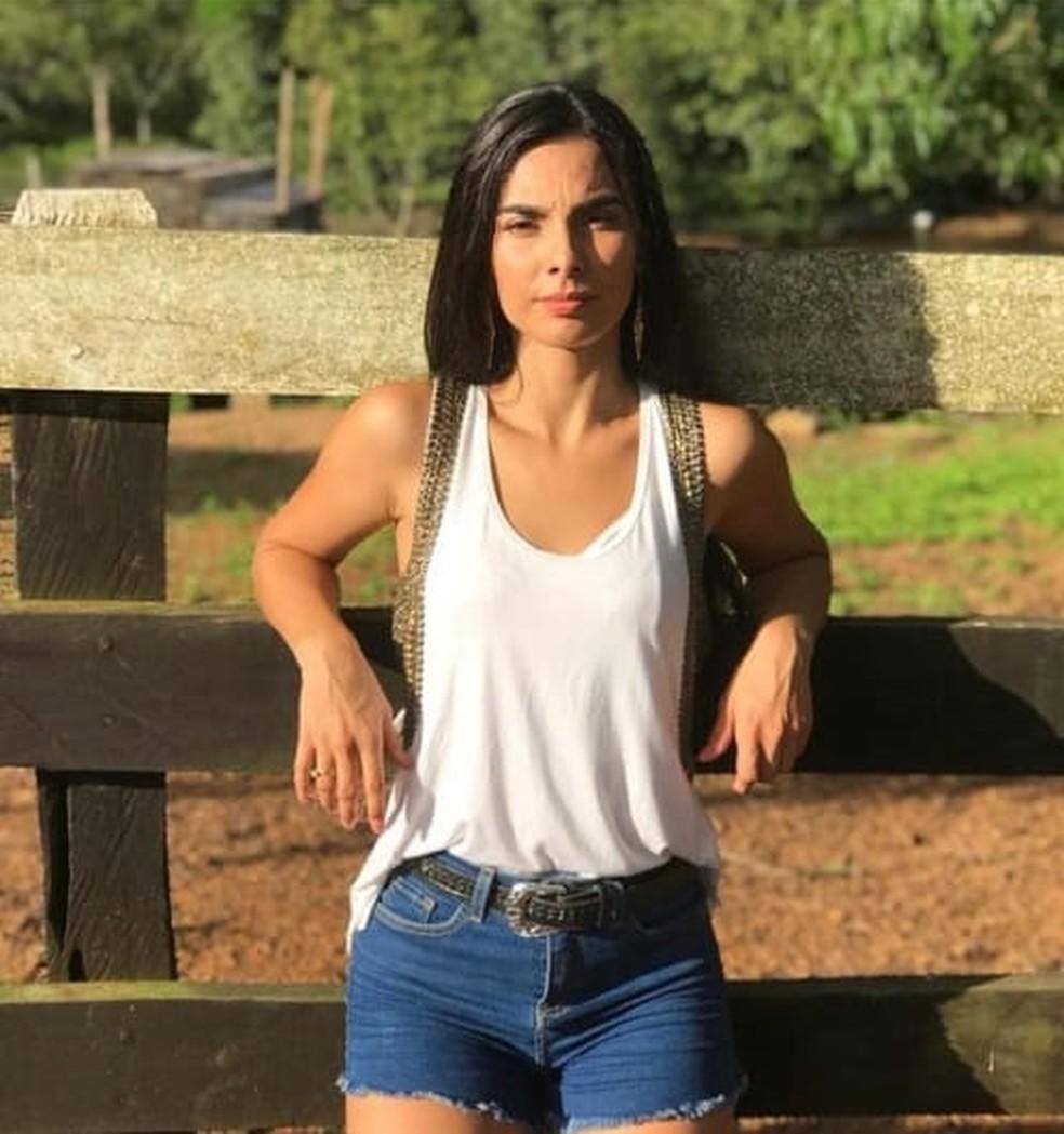 Candidata Nathalia Anselmo — Foto: Reprodução