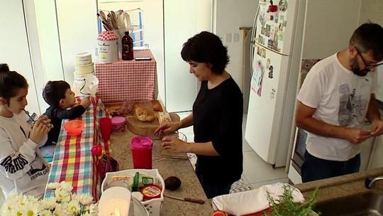 Família aplica práticas sustentáveis em sua rotina