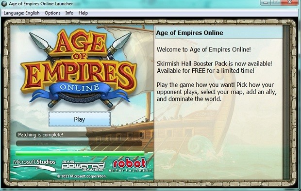 age of empires online 2011 download