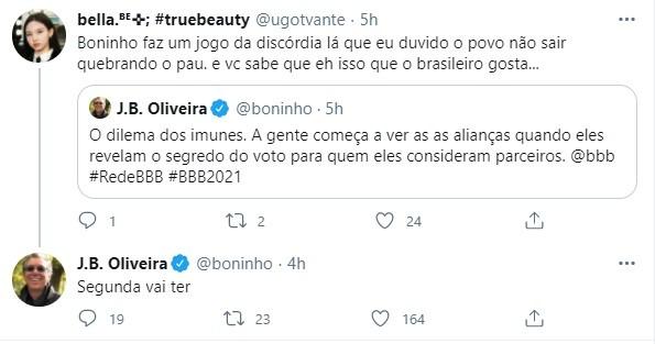 Boninho responde sobre o jogo da discórdia (Foto: Reprodução)