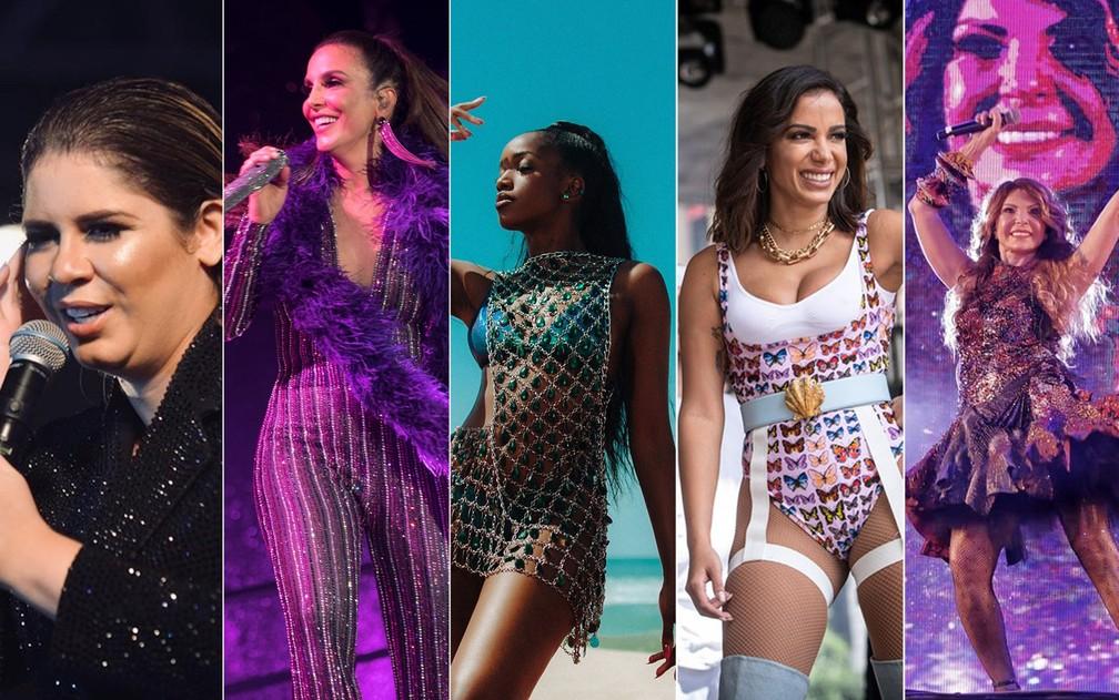 Time feminino de peso é destaque no Festival de Inverno Bahia — Foto: Montagem/G1