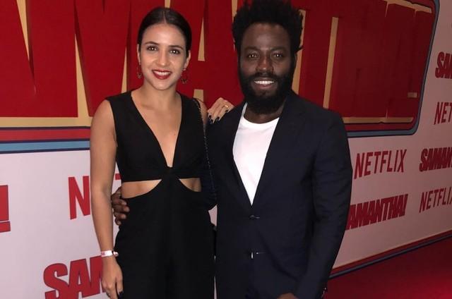 Carol Samarão e Douglas Silva (Foto: Reprodução/Instagram)