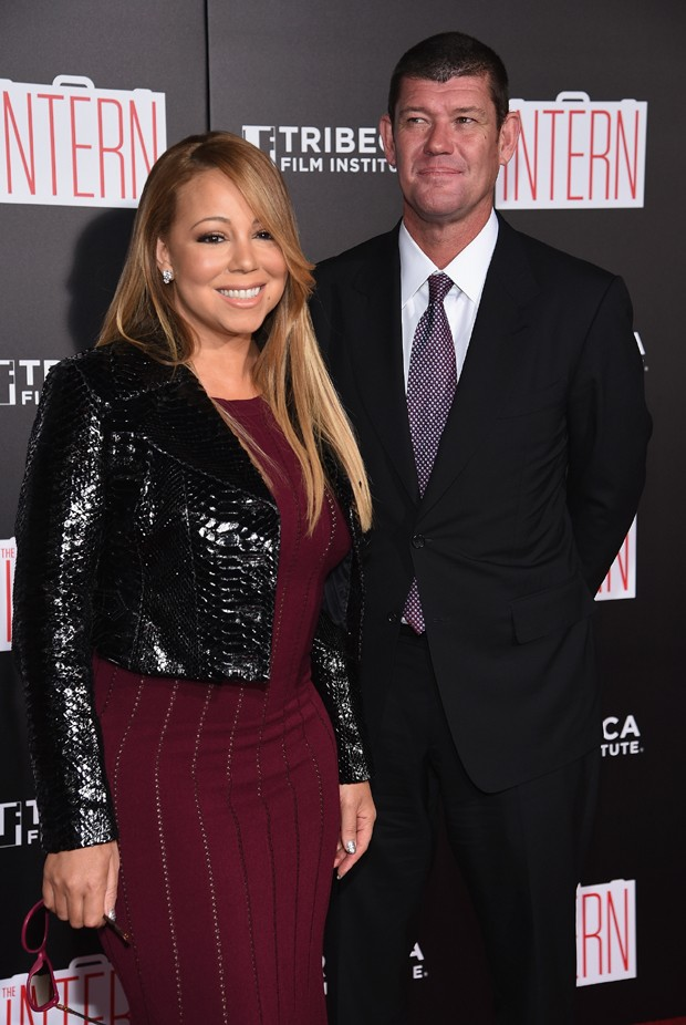 Mariah Carey e James Packer (Foto: Getty Images)