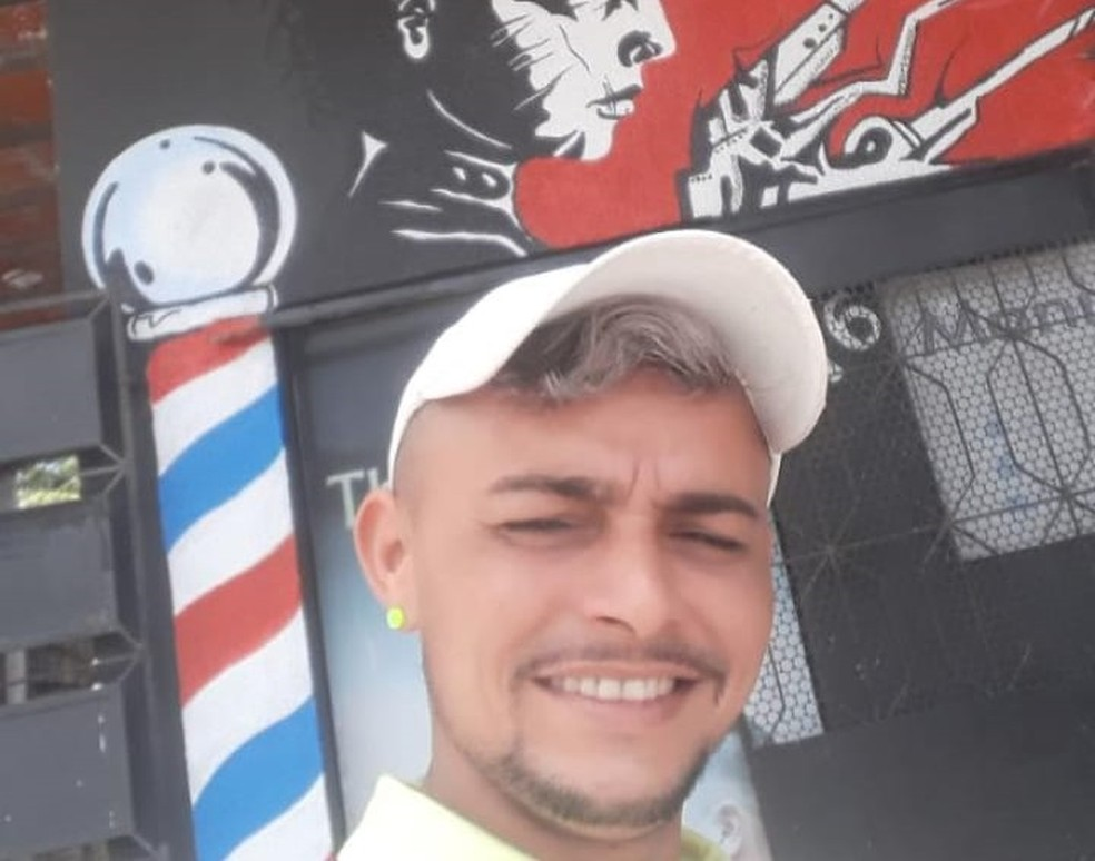 Cabeleireiro morreu após abordagem policial no Bairro Barroso, em Fortaleza — Foto: Arquivo pessoal