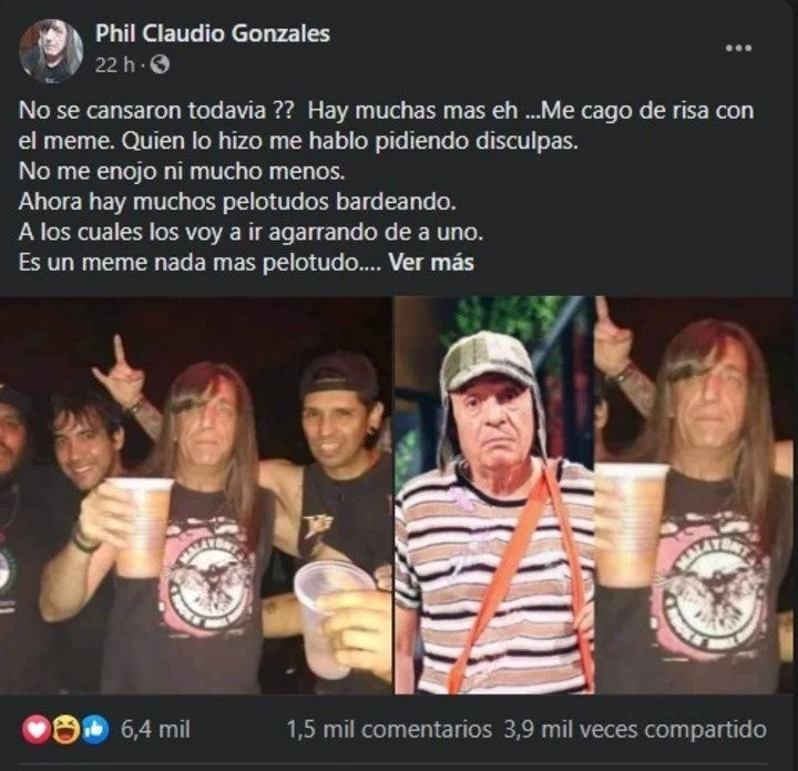 Meme do Chaves Metaleiro (Foto: Twitter)