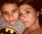 Mariah de Moraes e o filho | Reprodução Instagram