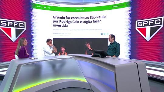 """Ana Thaís vê interesse do Grêmio como nova chance para Rodrigo Caio: """"Precisa fazer autocrítica"""""""